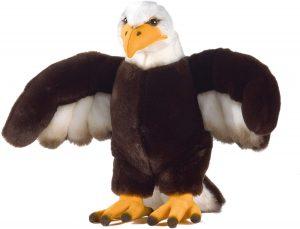 Peluche de águila de Plush y Company de 29 cm - Los mejores peluches de águilas - Peluches de animales