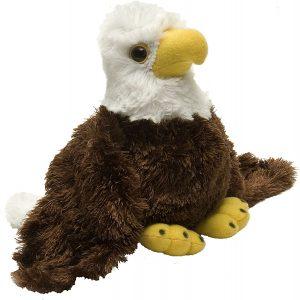 Peluche de águila de Wild Republic de 18 cm - Los mejores peluches de águilas - Peluches de animales