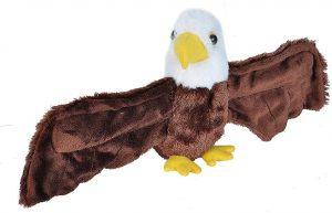 Peluche de águila de Wild Republic de 20 cm - Los mejores peluches de águilas - Peluches de animales