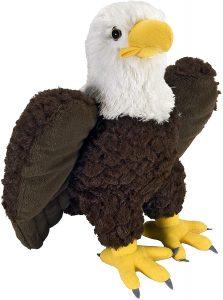 Peluche de águila de Wild Republic de 30 cm - Los mejores peluches de águilas - Peluches de animales