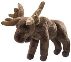 Peluche de alce de Carl Dick de 22 cm - Los mejores peluches de alces - Peluches de animales
