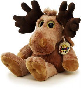 Peluche de alce de Sunny Toys de 48 cm - Los mejores peluches de alces - Peluches de animales