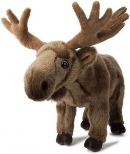 Peluche de alce de WWF de 35 cm - Los mejores peluches de alces - Peluches de animales