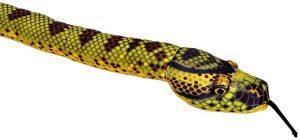 Peluche de anaconda de 137 cm de Wild Republic 2 - Los mejores peluches de serpientes - Peluches de animales