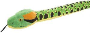 Peluche de anaconda de 137 cm de Wild Republic - Los mejores peluches de serpientes - Peluches de animales