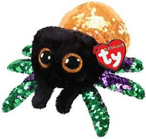 Peluche de araña de Ty de 15 cm brillante - Los mejores peluches de arañas - Peluches de animales
