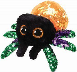 Peluche de araña de Ty de 23 cm brillante - Los mejores peluches de arañas - Peluches de animales