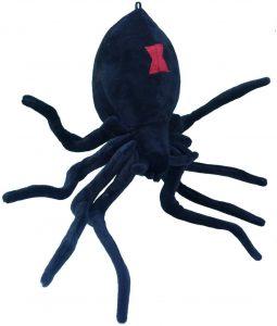 Peluche de araña negra de Plush de 33 cm - Los mejores peluches de arañas - Peluches de animales