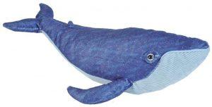 Peluche de ballena azul de Wild Republic de 30 cm - Los mejores peluches de ballenas - Peluches de animales