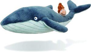 Peluche de ballena con caracol de Julia Donaldson y Axel Scheffler de 30 cm - Los mejores peluches de ballenas - Peluches de animales