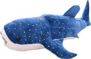 Peluche de ballena gigante de Bonways de 100 cm - Los mejores peluches de ballenas - Peluches de animales