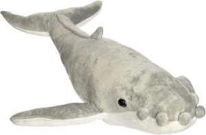 Peluche de ballena jorobada de Fiesta Toys de 55 cm - Los mejores peluches de ballenas - Peluches de animales