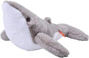 Peluche de ballena jorobada de Wild Republic de 30 cm - Los mejores peluches de ballenas - Peluches de animales