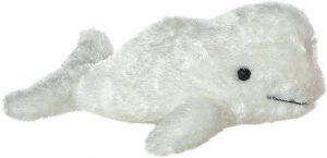 Peluche de beluga de Aurora de 20 cm - Los mejores peluches de belugas - Peluches de animales