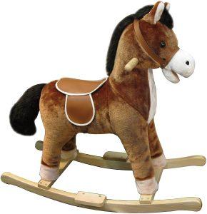 Peluche de caballo balancín de 65 cm - Los mejores peluches de caballos - Peluches de animales
