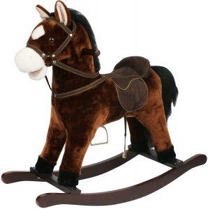 Peluche de caballo balancín de 68 cm Sweety Toys - Los mejores peluches de caballos - Peluches de animales