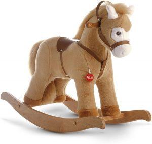 Peluche de caballo balancín de 75 cm Trudi - Los mejores peluches de caballos - Peluches de animales