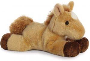 Peluche de caballo de Aurora - Los mejores peluches de caballos - horse - Peluche de animales