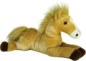 Peluche de caballo de Aurora de 30 cm - Los mejores peluches de caballos - Peluches de animales
