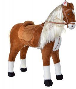 Peluche de caballo de Pink Papaya XXL de 105cm - Los mejores peluches de caballos - Peluches de animales