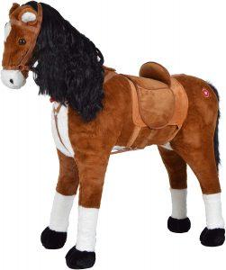 Peluche de caballo de Pink Papaya XXL de 105cm de Anna - Los mejores peluches de caballos - Peluches de animales