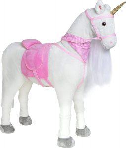 Peluche de caballo de Pink Papaya XXL de 105cm de Lissy - Los mejores peluches de caballos - Peluches de animales