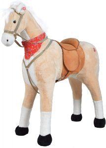 Peluche de caballo de Pink Papaya XXL de 105cm de Sternchen - Los mejores peluches de caballos - Peluches de animales