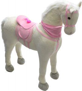 Peluche de caballo de Pink Papaya XXL de 125 cm de Luna - Los mejores peluches de caballos - Peluches de animales
