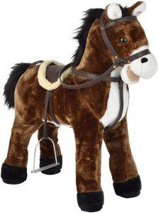 Peluche de caballo de Pink Papaya XXL de 65 cm de Timmy - Los mejores peluches de caballos - Peluches de animales