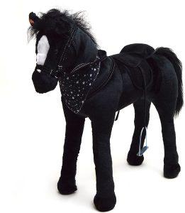 Peluche de caballo de Pink Papaya XXL de 75 cm de Polly - Los mejores peluches de caballos - Peluches de animales