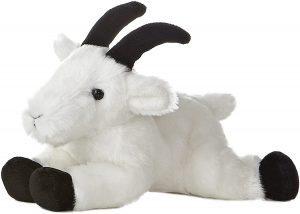Peluche de cabra de Aurora de 20 cm - Los mejores peluches de cabras - Peluches de animales