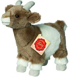 Peluche de cabra de Hermann Teddy de 22 cm - Los mejores peluches de cabras - Peluches de animales