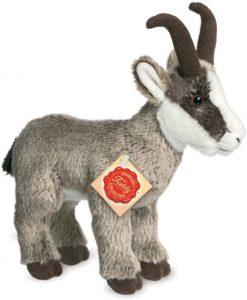 Peluche de cabra de Hermann Teddy de 23 cm - Los mejores peluches de cabras - Peluches de animales