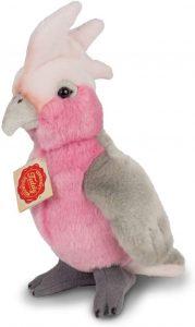 Peluche de cacatua rosa de Hermann Teddy - Los mejores peluches de cacatuas - Peluche de animales