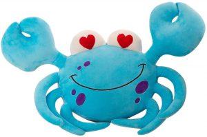 Peluche de cangrejo azul de DecoBay de 70 cm - Los mejores peluches de cangrejos - Peluches de animales