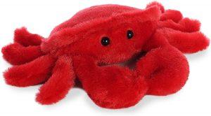 Peluche de cangrejo rojo de Aurora de 24 cm - Los mejores peluches de cangrejos - Peluches de animales