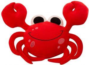 Peluche de cangrejo rojo de DecoBay de 60 cm - Los mejores peluches de cangrejos - Peluches de animales