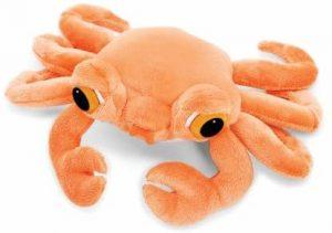 Peluche de cangrejo rojo de Lil Peepers de 25 cm - Los mejores peluches de cangrejos - Peluches de animales