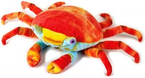 Peluche de cangrejo rojo de National Geographic de 20 cm - Los mejores peluches de cangrejos - Peluches de animales