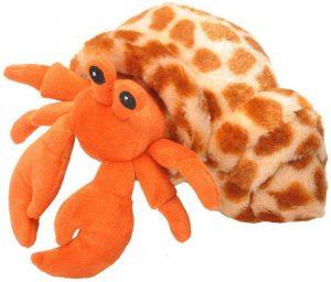 Peluche de cangrejo rojo de Wild Republic de 22 cm - Los mejores peluches de cangrejos - Peluches de animales