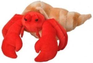 Peluche de cangrejo rojo de Wild Republic de 30 cm - Los mejores peluches de cangrejos - Peluches de animales