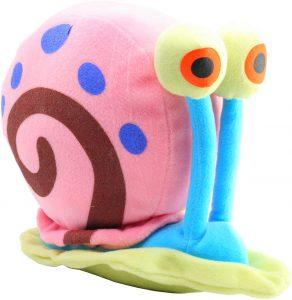 Peluche de caracol Gary de Bob Esponja de 22 cm - Los mejores peluches de caracoles - Peluches de animales