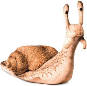 Peluche de caracol de Hansa de 22 cm - Los mejores peluches de caracoles - Peluches de animales