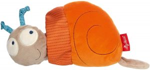 Peluche de caracol de Sigikid de 14 cm - Los mejores peluches de caracoles - Peluches de animales