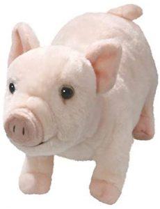 Peluche de cerdo de Carl Dick de 26 cm - Los mejores peluches de cerdos - Peluches de animales