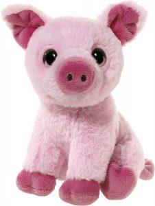 Peluche de cerdo de Heunec de 18 cm - Los mejores peluches de cerdos - Peluches de animales