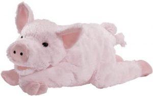 Peluche de cerdo de Heunec de 40 cm - Los mejores peluches de cerdos - Peluches de animales