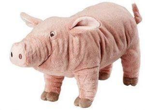 Peluche de cerdo de Ikea de 37 cm - Los mejores peluches de cerdos - Peluches de animales