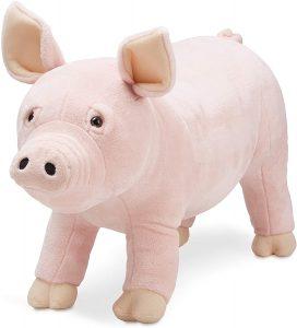 Peluche de cerdo de Melissa and Doug de 76 cm - Los mejores peluches de cerdos - Peluches de animales