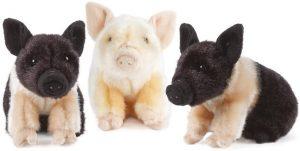 Peluche de cerdo de Naturede 20 cm - Los mejores peluches de cerdos - Peluches de animales